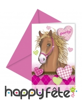 Décorations chevaux pour table d'anniversaire, image 7
