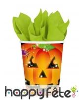 Décorations citrouille pour table de Halloween, image 3
