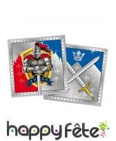 Décos chevaliers pour table d'anniversaire, image 7