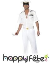 Déguisement capitaine top gun
