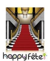 Déco d'arrière plan d'escalier bourgeois, années20