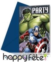 Décoration d'anniversaire Avengers, image 3