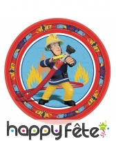 Décoration d'anniversaire Sam le pompier, image 2