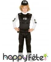 Déguisement d'agent spécial du FBI pour enfant