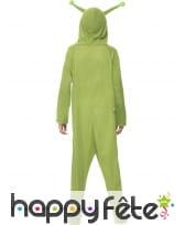 Déguisement d'alien vert pour enfant, image 1