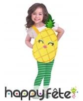 Déguisement d'Ananas souriant pour enfant