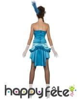 Déguisement danseuse bleue sexy, image 2