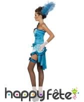 Déguisement danseuse bleue sexy, image 1