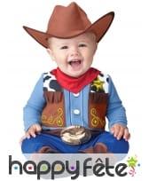 Déguisement de bébé cowboy