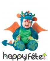 Déguisement de bébé dragon