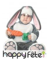 Déguisement de bébé lapin carotte
