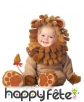 Déguisement de bébé Lion roi de la jungle