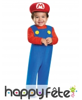 Déguisement de bébé Mario Bross