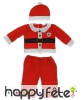 Déguisement de bébé père Noël, image 1
