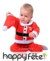 Déguisement de bébé père Noël