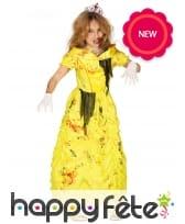 Déguisement de Belle zombie pour enfant