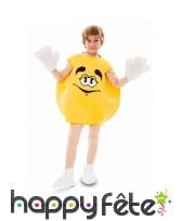 Déguisement de bonbon jaune pour enfant