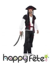 Déguisement de capitain pirate pour homme