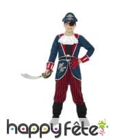 Déguisement de capitaine pirate pour enfant