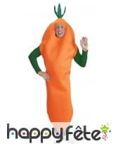 Déguisement de carotte pour adulte