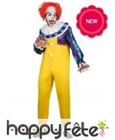 Déguisement de célèbre clown tueur pour homme, image 1