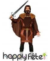 Déguisement de chevalier féodal pour homme
