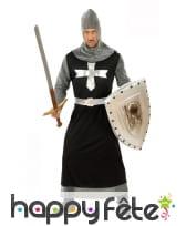 Déguisement de chevalier médiéval cotte de maille