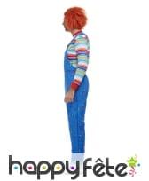 Déguisement de Chucky pour adulte, image 1