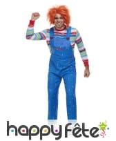 Déguisement de Chucky pour adulte, image 3