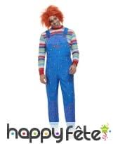 Déguisement de Chucky pour adulte