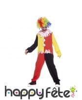 Déguisement de clown ensanglanté pour enfant