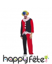 Déguisement de clown ensanglanté pour homme