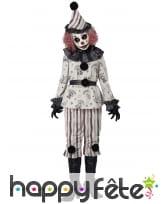 Déguisement de clown hanté pour adulte, image 1
