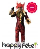 Déguisement de clown tueur pour homme