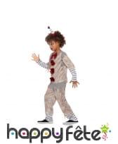 Déguisement de clown vintage pour enfant, image 1