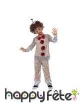 Déguisement de clown vintage pour enfant