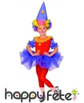 Déguisement de clownette en tutu, pour enfant