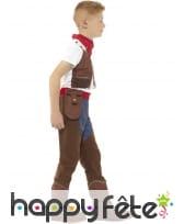 Déguisement de cowboy à chaps pour enfant, image 1