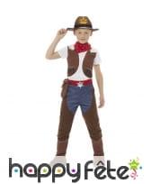 Déguisement de cowboy à chaps pour enfant