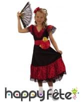Déguisement de danseuse espagnole pour enfant