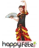 Déguisement de danseuse espagnole pour fillette, image 1