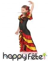 Déguisement de danseuse espagnole pour fillette, image 2