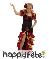 Déguisement de danseuse espagnole pour fillette
