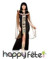 Déguisement de déesse Egyptienne, noir or, image 1
