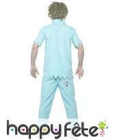 Déguisement de dentiste zombie pour homme, image 1