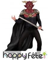 Déguisement de diable chevalier pour adulte