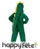 Déguisement de dinosaure vert pour enfant, image 3