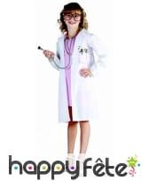 Déguisement de doctoresse pour enfant, image 2