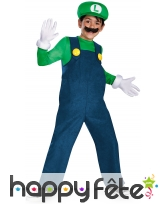 Déguisement Deluxe de Luigi pour garçon
