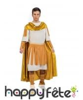 Déguisement doré d'Empereur romain, homme